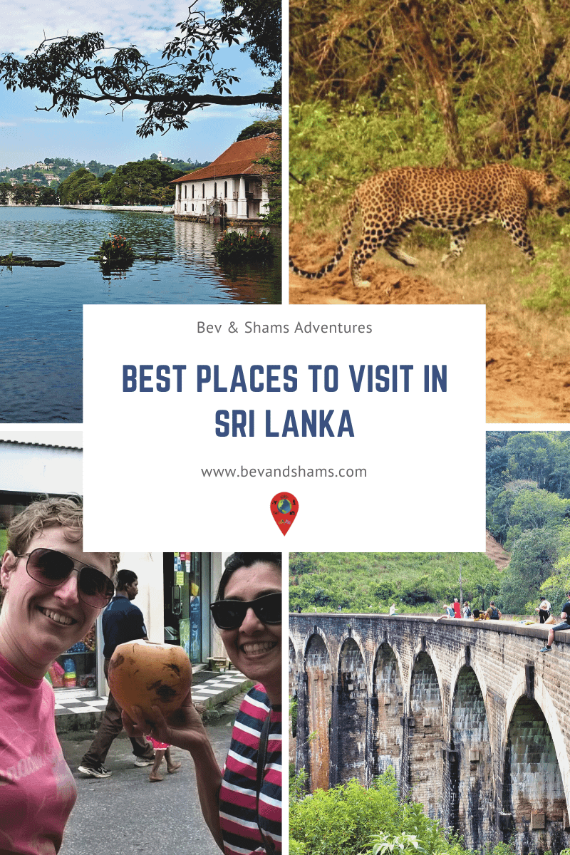 Bucket List on places to visit in Sri Lanka