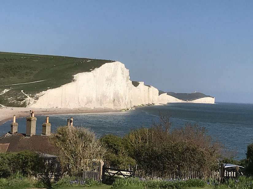 The Seven Sisters, between Eastbourne and Seaford