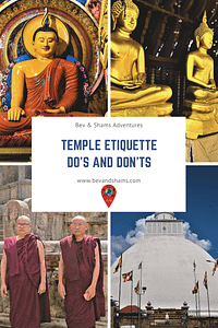 Temple Etiquette - Do's and Don'ts