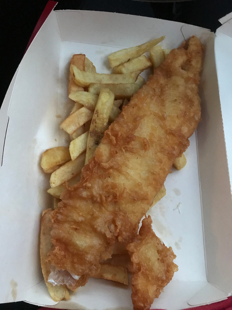 Fish and Chips from Harry Ramsden's
