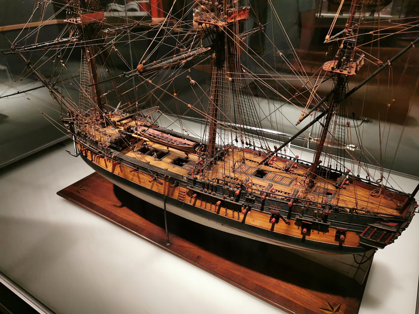 There's so much detail on these model ships, its incredible