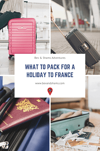 What to pack for a holiday to France