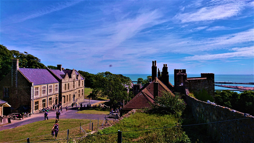 Views from Dover Castle