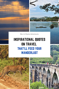 Inspirational quotes on travel that'll feed your wanderlust