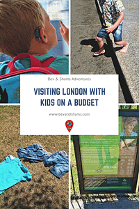 Visiting London with kids on a budget