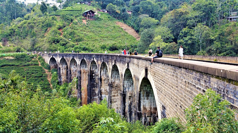 Nine Arches Bridge in Ella is part of our Bucket List of Places to Visit in Sri Lanka