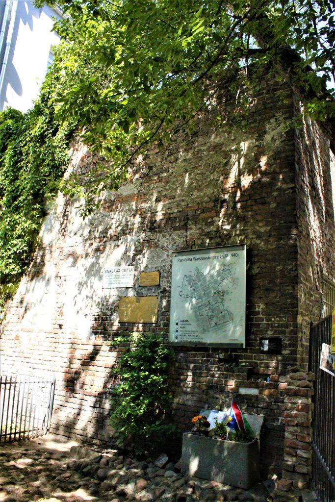 Part of the Warsaw Ghetto Wall - Things to do in Warsaw
