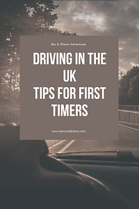 Tips on driving in the UK for first timers