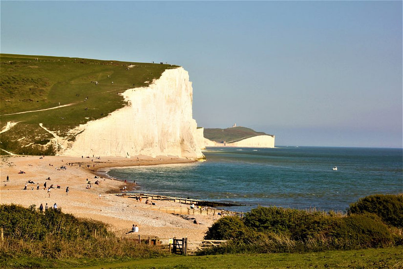 The Seven Sisters in Eastbourne - UK