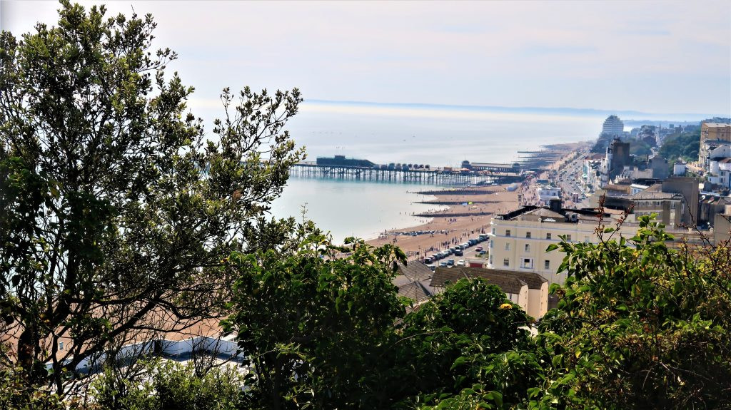 Things to do in Hastings - admire the seafront