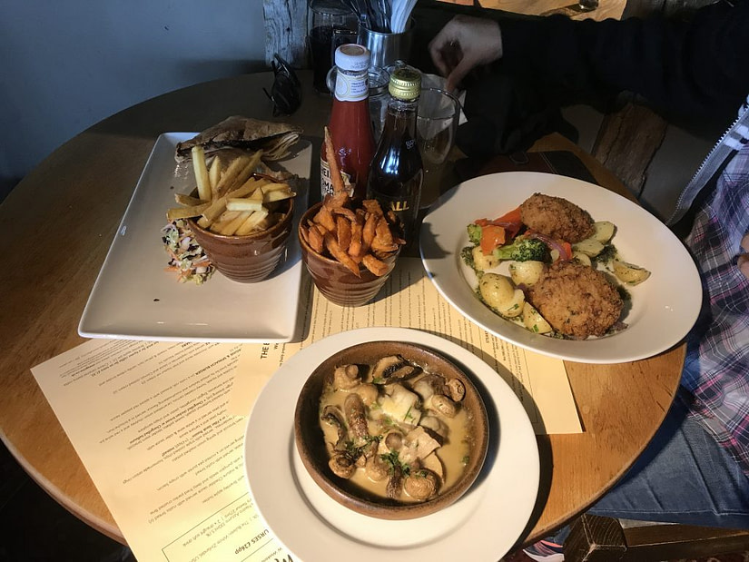 Our food from The Beach Head in Eastbourne