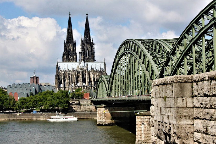 The Cathedral in Cologne, Germany