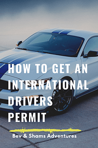 How to get an International Drivers Permit