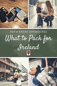 Ultimate packing check list for Ireland