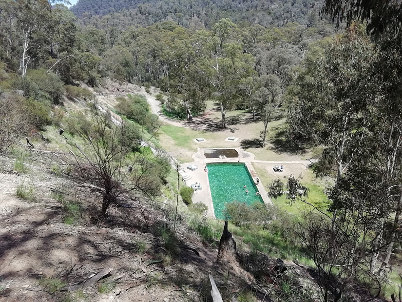 The Yarrangobilly Caves Thermal Pool