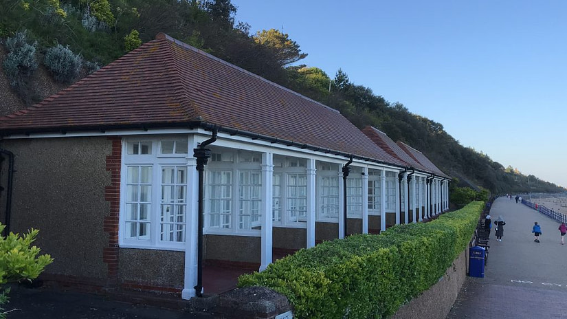 visiting the luxury beach huts at Holywell are just one of the things to do.