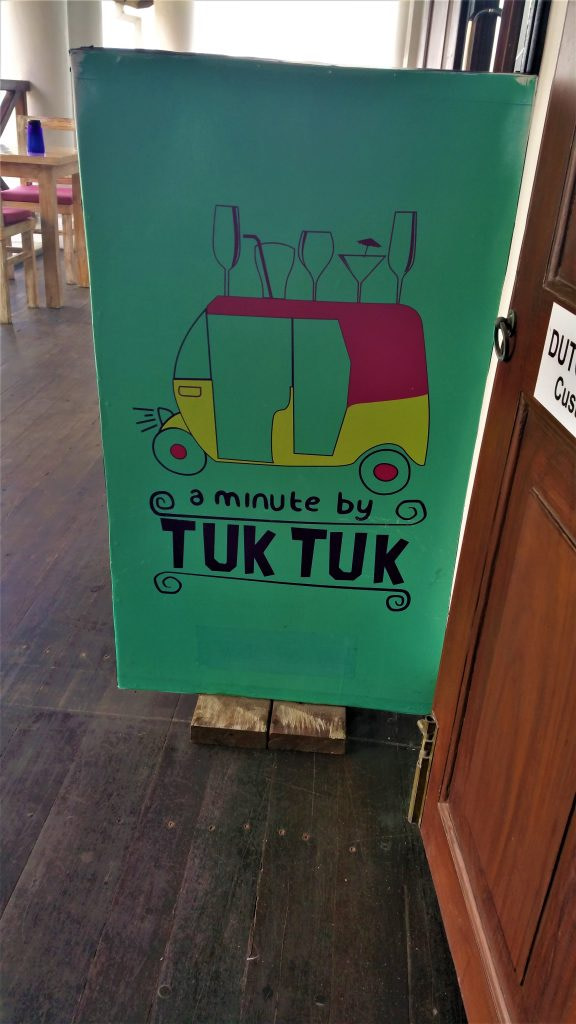 A Minute by Tuk Tuk, in Galle