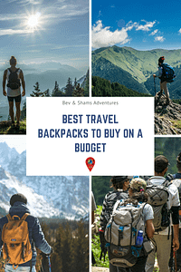 Best Travel Backpacks to buy on a Budget