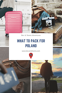 What to pack for Poland