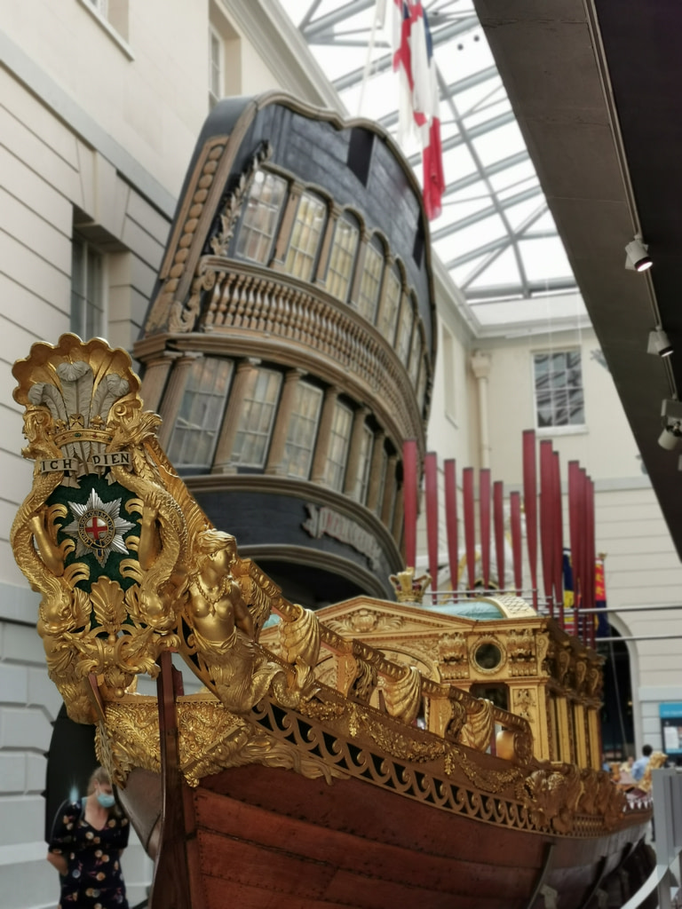 So much detail on Prince Frederick's Barge
