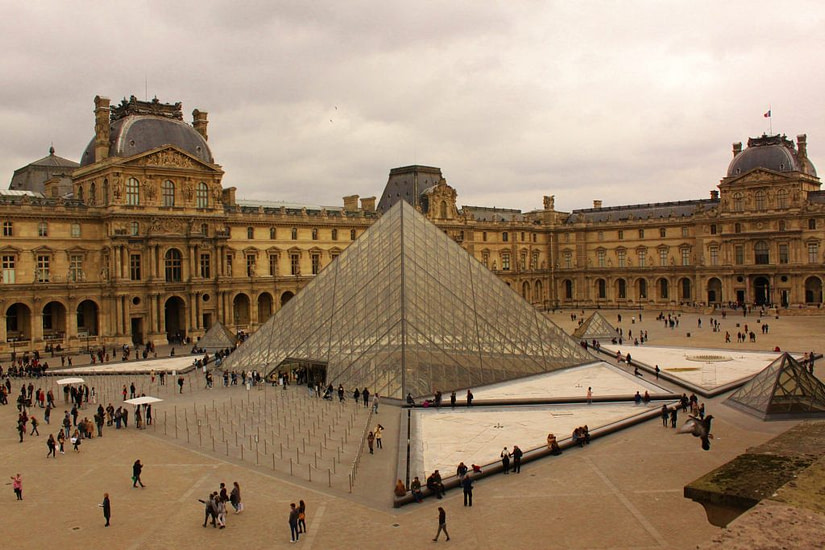 The Louvre Museum, Paris