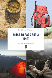 What to Pack for a Hike?