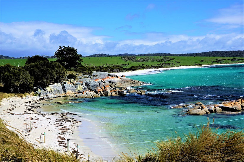 Bay of Fires in Tasmania By Jan from Leisurely Drives